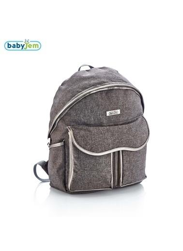 Babyjem Denim Sırt Bebek Bakım Çantası rengi-Baby Jem